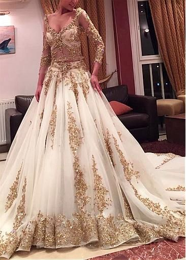 Indian brides dresses white