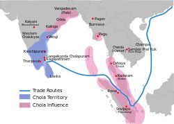 The CHOLA DYNASTY (Tamil: சோழர்) was one of the longest-ruling dynasties in the history of southern India. The earliest datable references to this Tamil dynasty are in inscriptions from the 3rd century BCE left by Asoka, of the Maurya Empire. As one of the Three Crowned Kings, the dynasty continued to govern over varying territory until the 13th century CE.