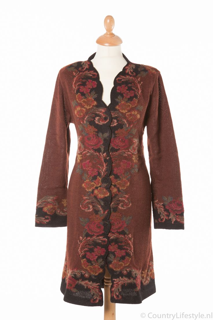 Galeria Araña: Il Roseto Coat, alpaca wool