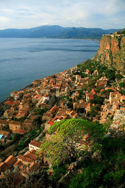 Monemvasia ~ Like a fairytale... (photo by D. Karvountzis)