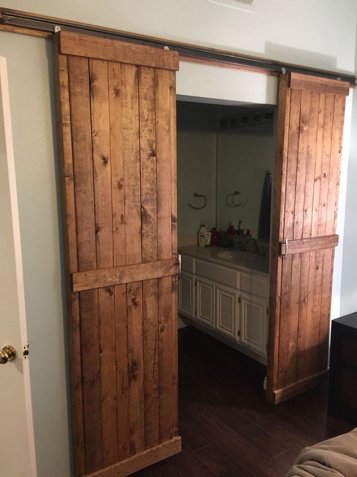 Barn Door Concept Made These For Our Master Bath Opening
