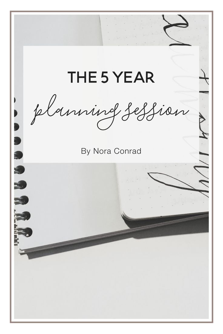 5 year plans seem silly right? Wrong. Let me explain why I think it's important to have a 5 year plan and how to make a good one!
