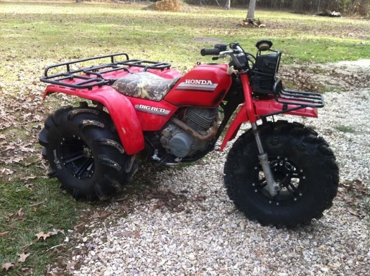 Honda Four Wheelers For Sale >> big red lifted - Google Search | ATC Mud Rigs | ATV, Mini ...