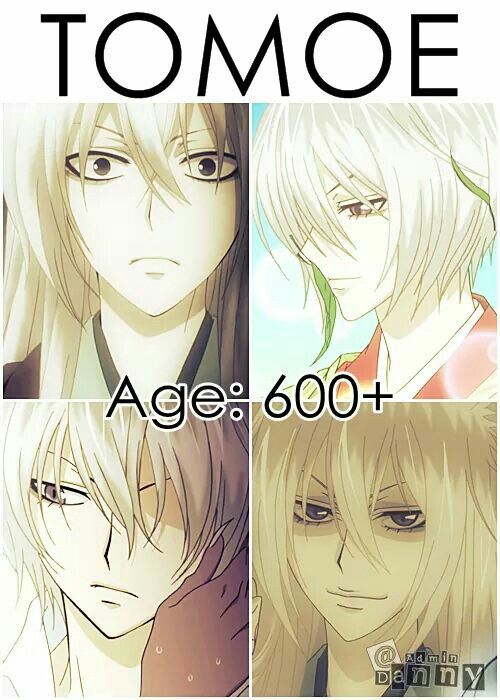 Tomoe is 600+.. but  he is so hot now too