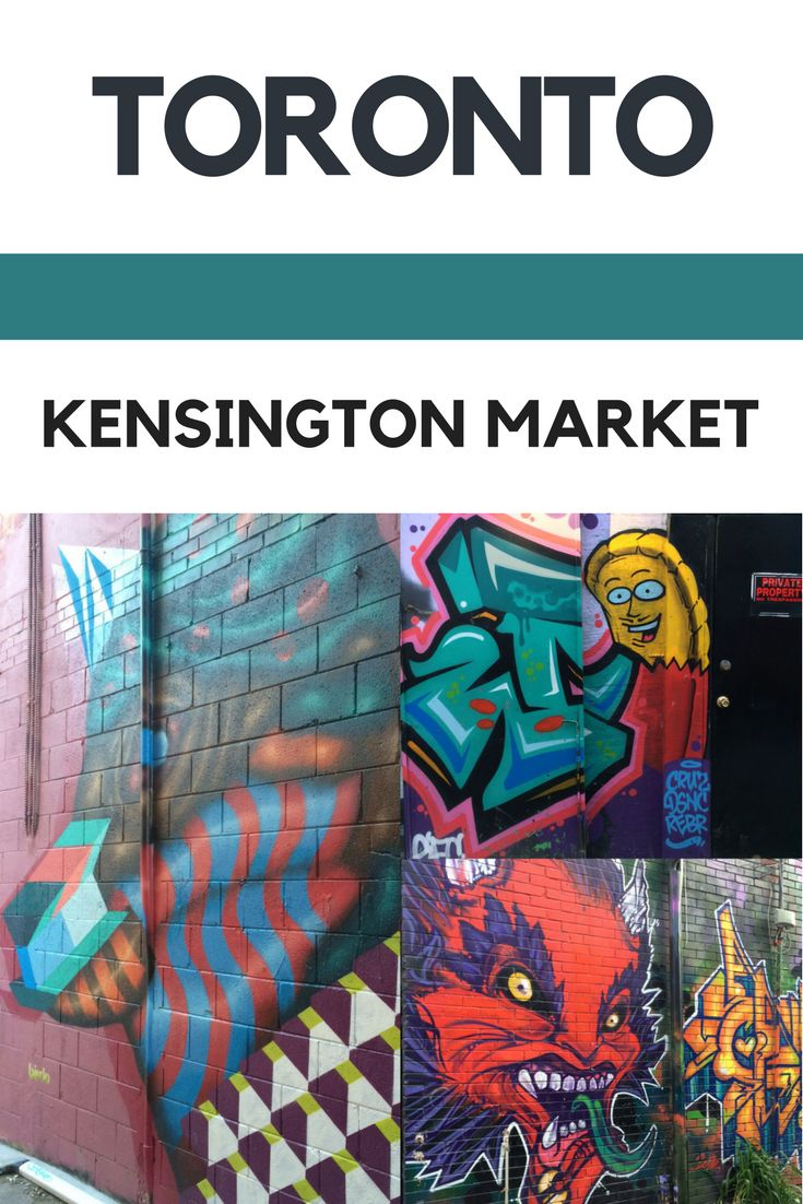 Toronto Kensington Market – A melting pot of flavours and colours   Street Art, Street Food, Culture and Vintage Shops in Toronto, Canada