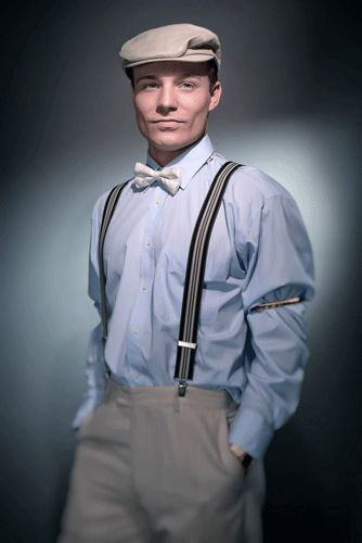 1920 mens fashion suspenders - Google Search