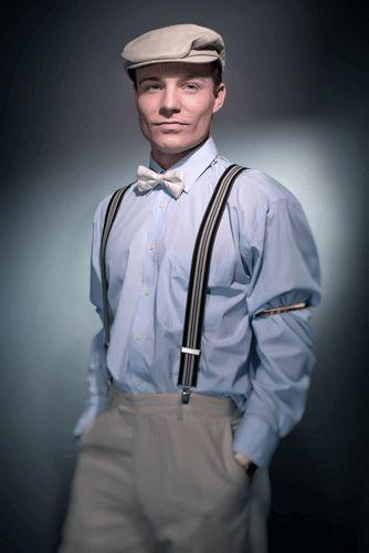 1920 mens fashion suspenders - Google Search                                                                                                                                                                                 More