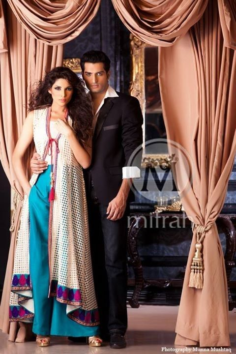 Ladies & Gents Party Outfits 2014 New Collection