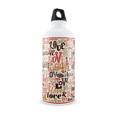 Spread the Love with this Water Bottle!