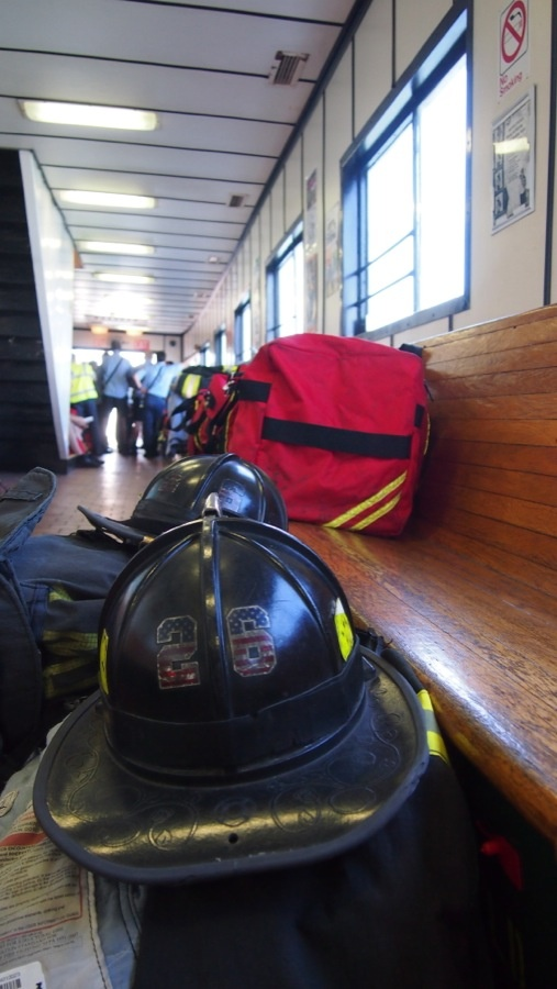 Some of the protective gear worn by firefighters when battling structural fires. UL evaluates the protective clothing used by firefighters for safety. www.ul.com