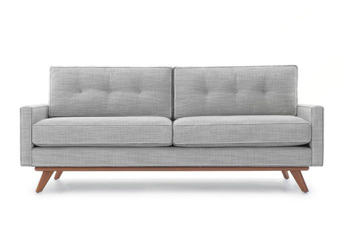 Tufted Sofa Tyler Sofa in Cordova Amber by Thrive Furniture
