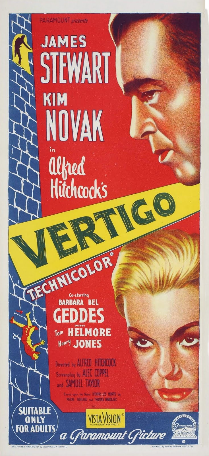 an analysis of vertigo a film by alfred hitchcock Alfred hitchcock's vertigo is the greatest film of all time at least, that is, according to the critics that voted in the british film institute's 2012 sight & sound poll.