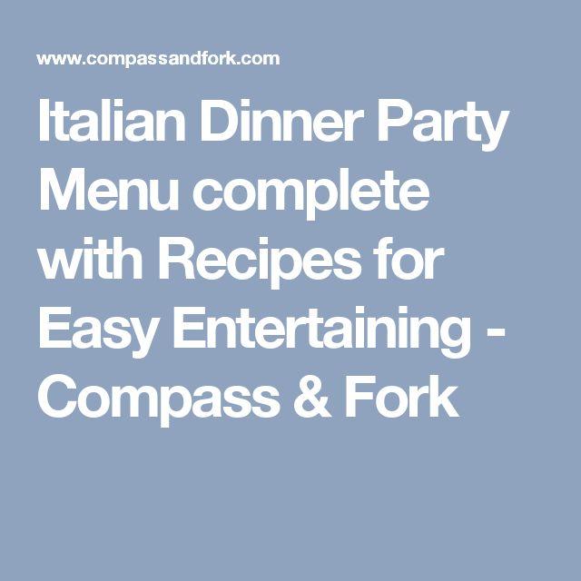 Best 25+ Italian dinner menu ideas on Pinterest Italian dinner - dinner menu