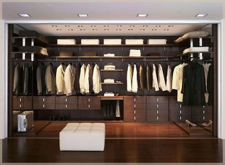 Closet And Wardrobe Designs. Modern Stylish Brown Walk In Closet Design  With Wooden Wall Mounted Shelves For Nice Saving Space Ideas For Clothes,  ... Part 67