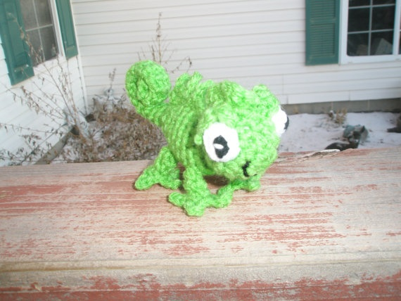 The Chameleon Pascal Tangled Rapunzel  Small  by 2momsdesigns, $9.00