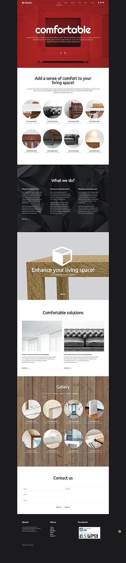 347 Best Wordpress Theme Images On Pinterest Website Template