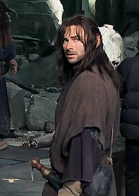 Kili in erebor - wearing laketown clothing