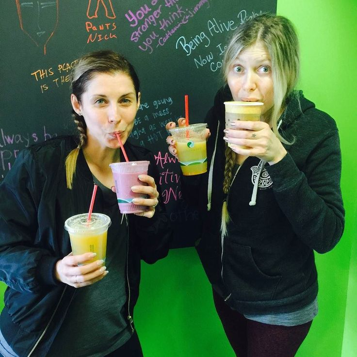 We have fun when our guest are having fun!! These 2 ladies where a ball of joy!  #freshjuice #veganrecipes  #smoothies #Pasadena #vegan #goodvibes