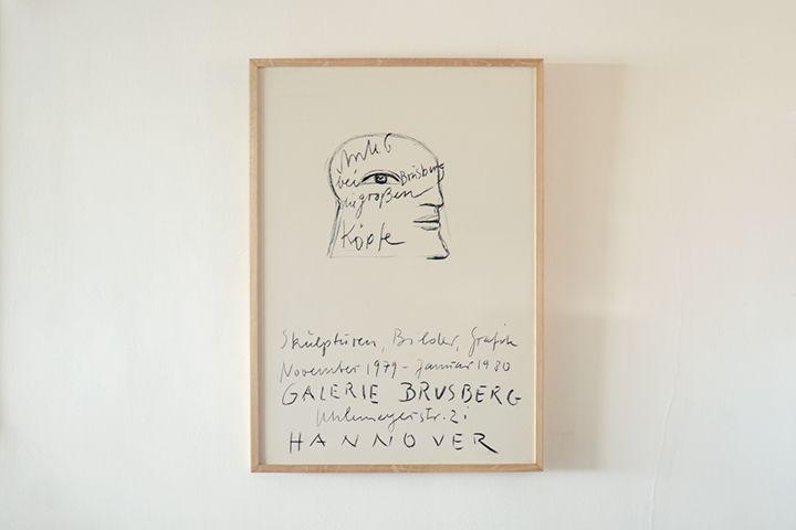 Horst Antes / Galerie Brusberg - 1979