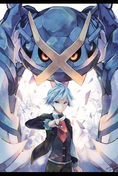 Daigo Tsuwabuki & Mega Metagross | Pokemon (by Kabocha Torute) #anime