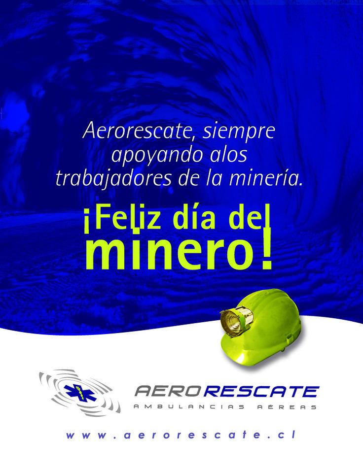 Feliz día del Minero