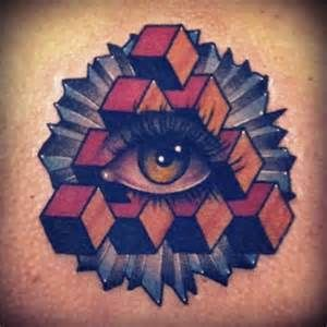 Gallery For > Triangle Eye Tattoo