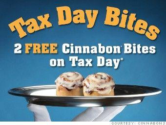 10 Tax Day Deals!