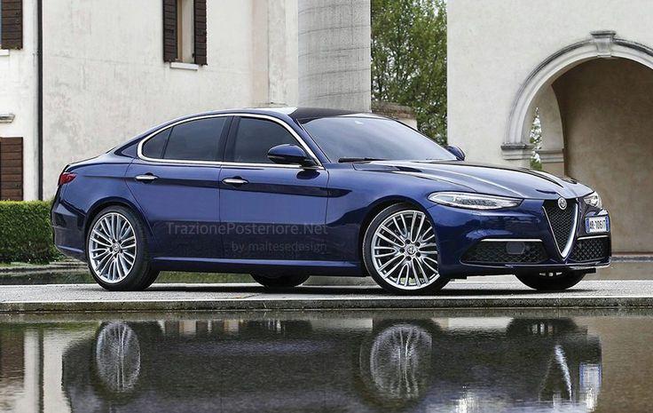 Alfa Romeo Alfetta: O novo rival do BMW Série 5