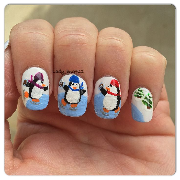 306 best My winter nails images on Pinterest | Christmas ...