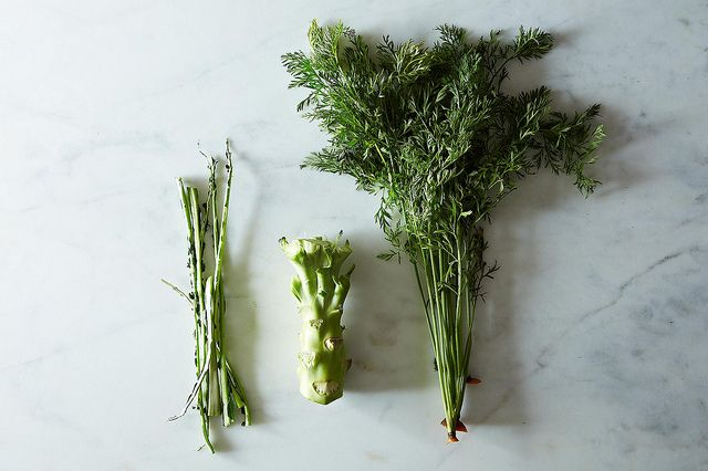Eat all of your vegetables: How to use roots and stems