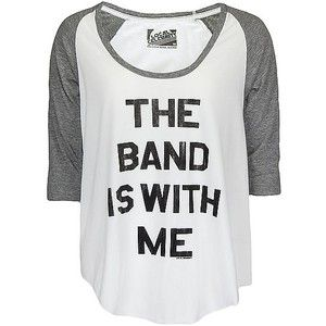 Local Celebrity The Band Is With Me T-Shirt
