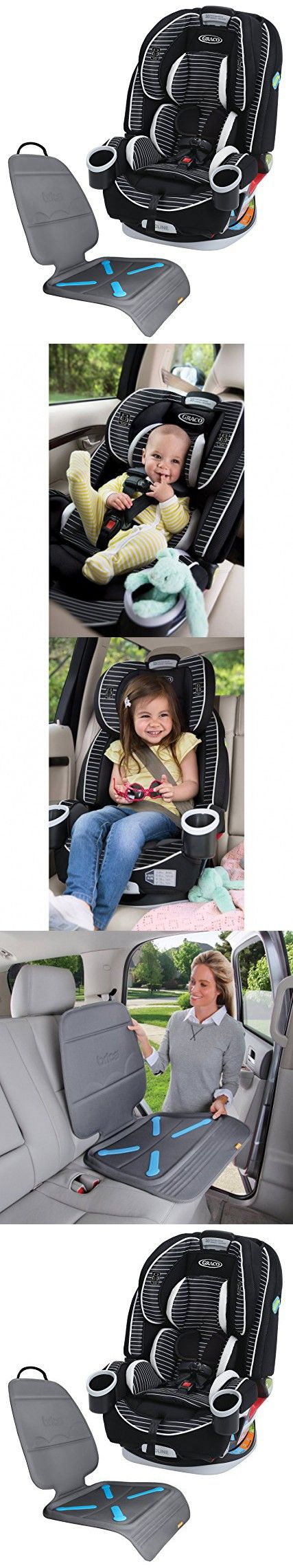Graco 4Ever All-In-One Convertible Car Seat with Seat Protector, Studio