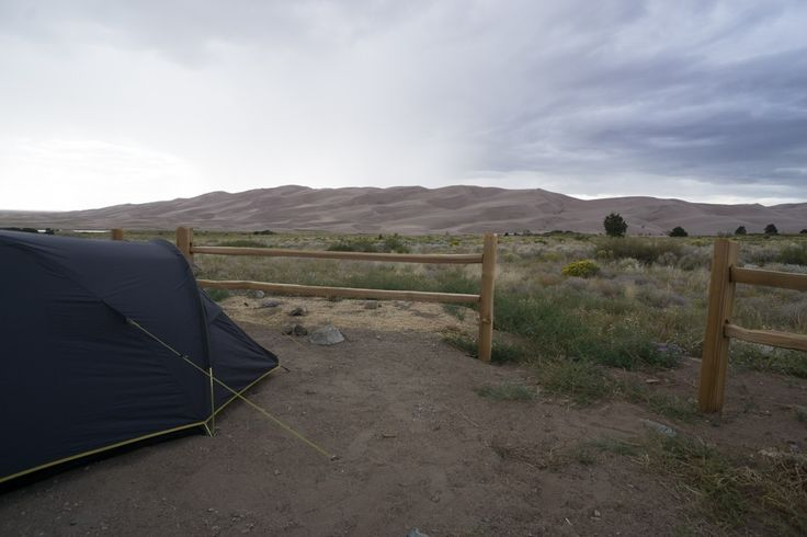 camping aux Etats Unis vue de Great Sand Dunes Colorado www.maathiildee.com