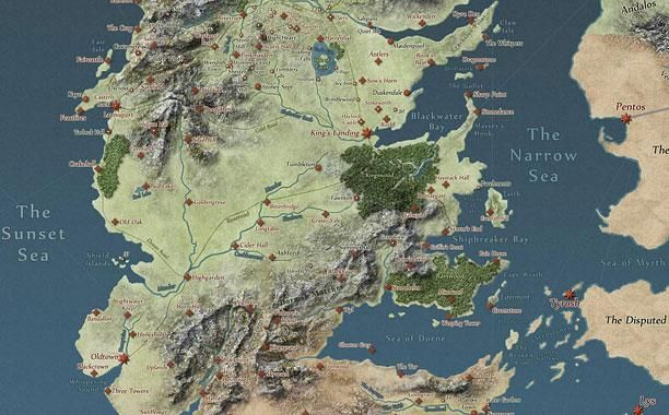 Song Of Ice And Fire Interactive Map