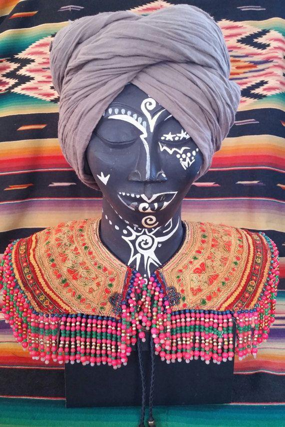 Frida Collar Shoulder adornment Mardi Gras by KavanaEmporium