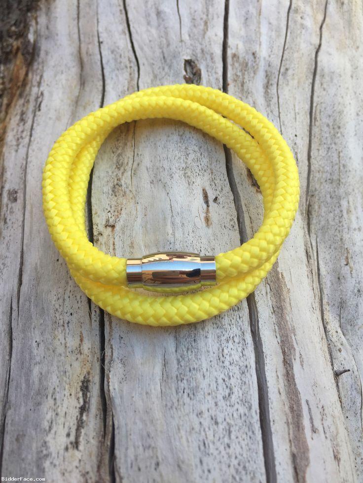 Canary yellow bracelet  / Žltý náramok