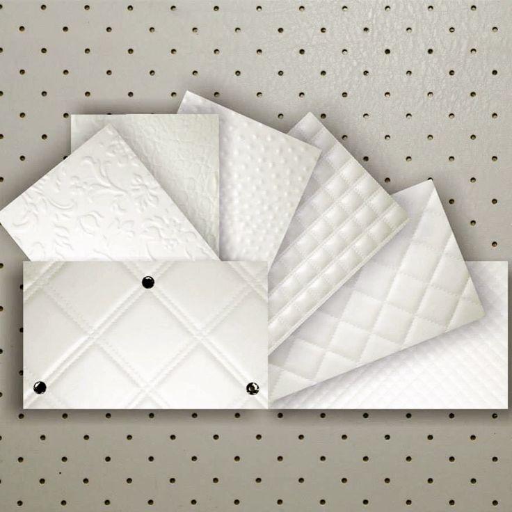 Revestimentos em placa auto-adesivas.