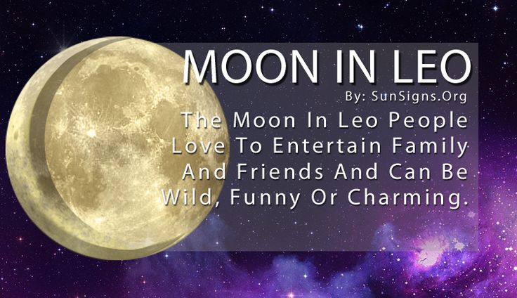 While Leos in astrology are known for being strong and independent, their passionate side can sometimes get the better of them. And with the Moon in Leo, their emotions rule over their logic. This makes them a bit more sensitive to the potential criticism that comes from being the center of attention.
