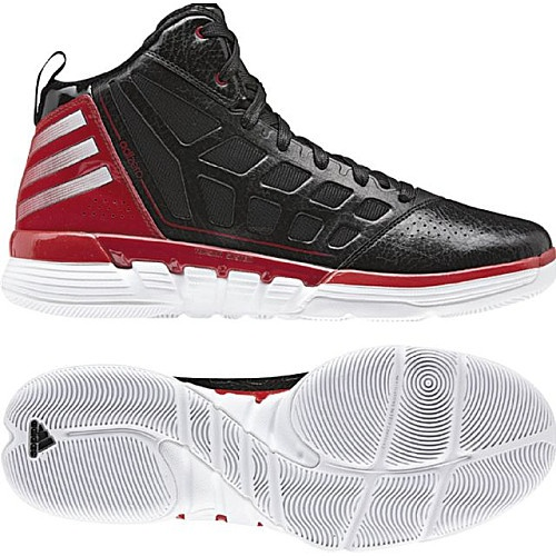 Hit the court with adidas basketball shoes.