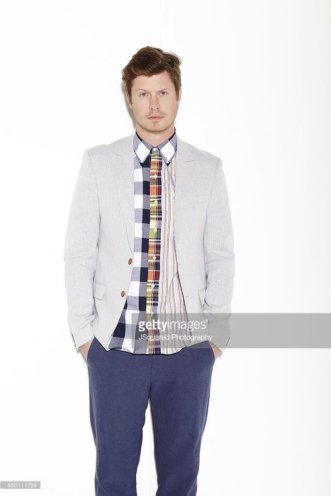 Actor <a gi-track='captionPersonalityLinkClicked' href=/galleries/search?phrase=Anders+Holm&family=editorial&specificpeople=7124991 ng-click='$event.stopPropagation()'>Anders Holm</a> is photographed for Bello on January 10, 2014 in Los Angeles, California. PUBLISHED IMAGE.