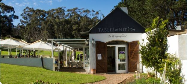 Tables at Nitida Nitida Wine Farm Tygerbergvalley rd, Eikenbosch, Cape Town, 7551 t: 021 975 9357 c: 082 323 7124