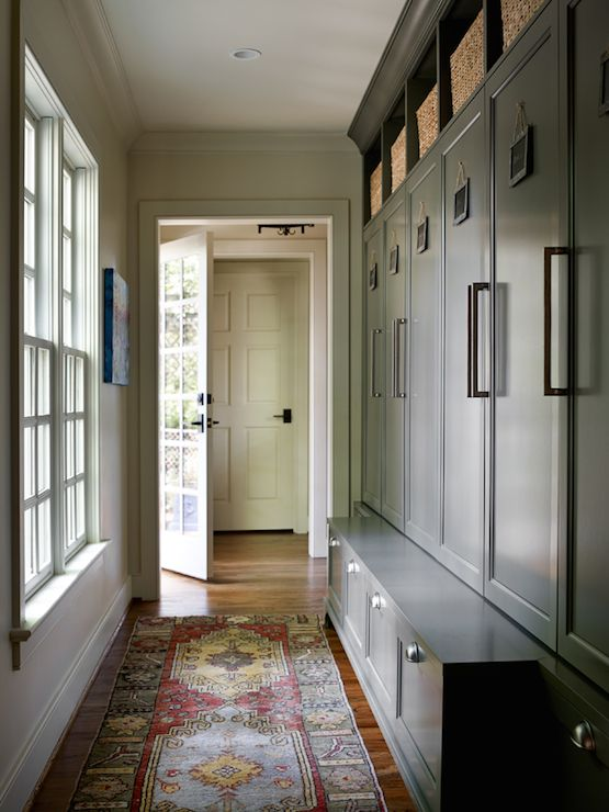 17 best images about mud room on pinterest dutch door for Open lockers for mudroom