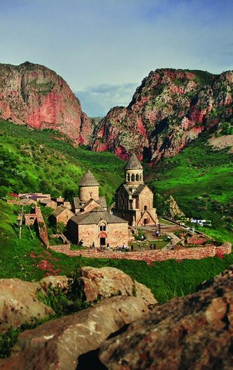 A remote monastery in Armenia. For the best of art, food, culture, travel, head to http://theculturetrip.com. Or click http://theculturetrip.co... for everything a traveler needs to know about Armenia.