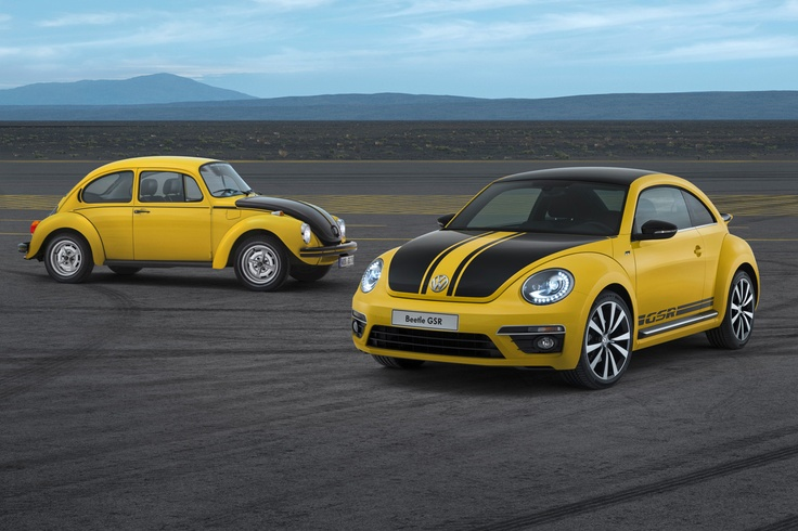 Volkswagen Limited Edition Beetle GSR.  I know you'll like this ;) @Elizabeth Lockhart Valentinova