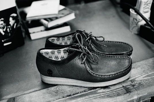 Clarks Wallabees collab w/ Doom. #boom