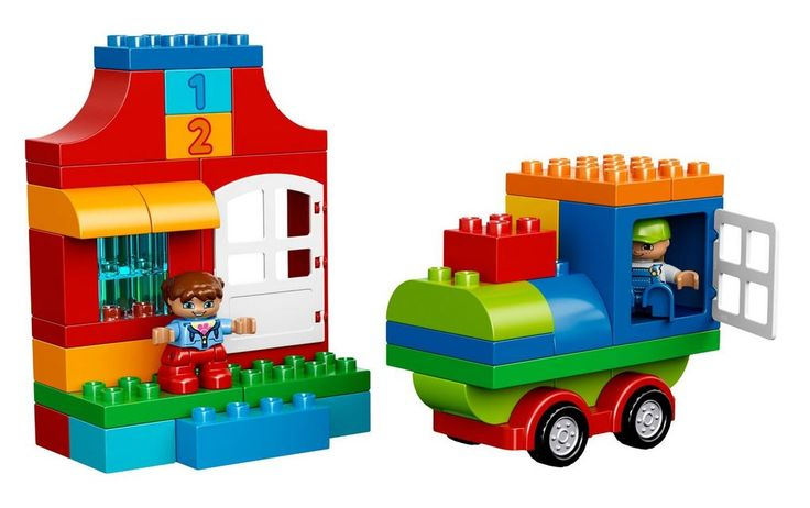 Lego Duplo house and truck