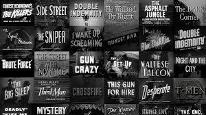 Résultats de recherche d'images pour «cinema noir»
