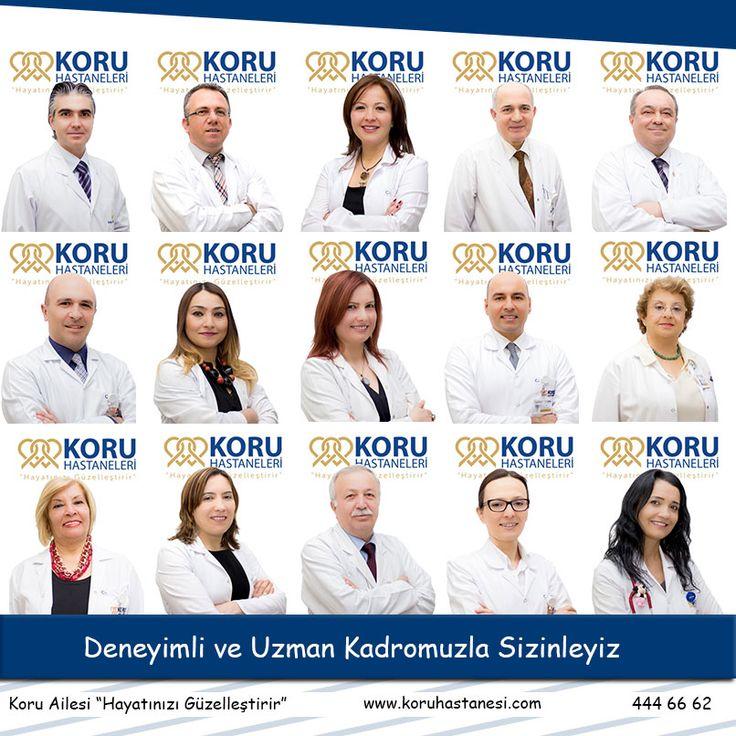 Deneyimli ve Uzman Kadromuzla Sizinleyiz....www.koruhastanesi.com