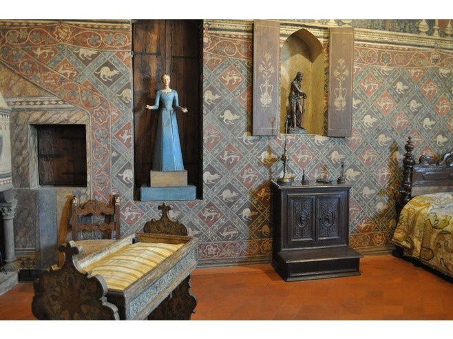 palazzo davanzati firenze now a museum in #Florence Italy