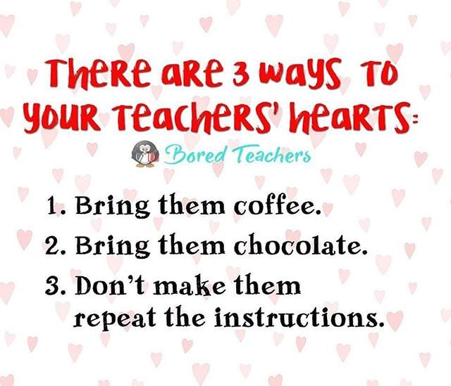 It S Valentine S Day Just Sayin Bored Teachers Teaching Humor Teacher Jokes